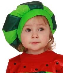 Фото Шапочка арбуз детская