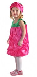 Фото Костюм малина в платье детский
