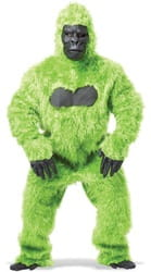 Фото Костюм горилла зеленый взрослый