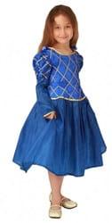 Фото Костюм принцесса синий детский