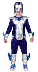 Фото Костюм Железный Человек синий детский