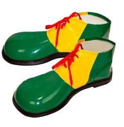 Башмаки Клоун зеленые