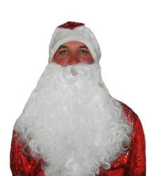 Фото Набор борода и шапка Деда Мороза