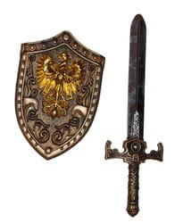Фото Набор рыцаря щит и меч