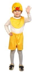 Фото Костюм Цыпленок желтый детский