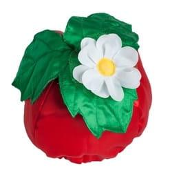 Фото Карнавальная шапка клубника детская