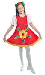 Фото Костюм танцевальный народный детский