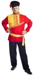 Фото Костюм Барин в красной рубахе взрослый
