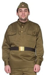 Фото Костюм военная форма взрослый