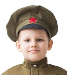 Фуражка военная детская