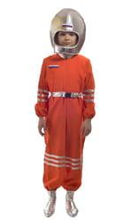 Фото Костюм космонавта оранжевый детский