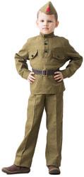 Фото Костюм солдат в брюках детский