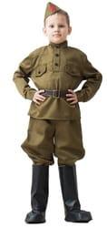 Фото Костюм солдата в галифе для мальчика