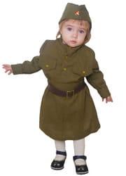 Фото Костюм солдат ВОВ малыш детский