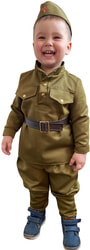 Фото Костюм солдат малыш детский
