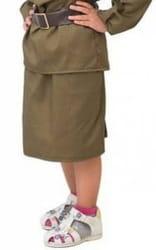 Фото Юбка военная детская