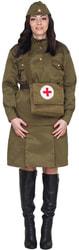 Фото Костюм санитарочка военная взрослый