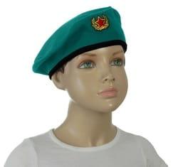 Фото Берет военный с кокардой детский