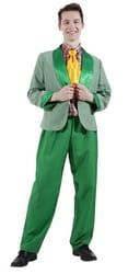 Фото Костюм стиляги зеленый взрослый