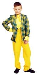 Фото Костюм стиляга с желтыми штанами детский