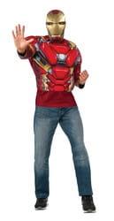 Фото Костюм мускулистый Железный Человек взрослый