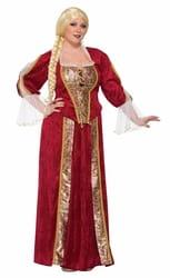 Фото Костюм королева Ренессанса взрослый (большой размер)