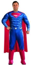 Фото Костюм Супермен делюкс взрослый (большой размер)