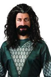 Фото Набор парик и борода Торина взрослый