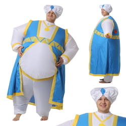 Фото Костюм надувной Султан голубой взрослый