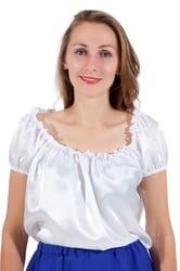 Фото Блуза белая взрослая