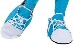 Ботинки Клоуна голубые