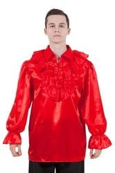 Фото Рубашка Пирата красная взрослый