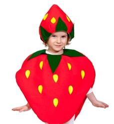 Фото Костюм ягодка Клубничка детский