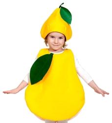 Фото Костюм Груша жёлтая детский
