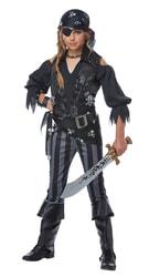 Фото Костюм боевая Пиратка deluxe детский