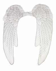 Фото Белые крылья Ангела с отделкой