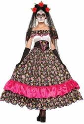Фото Костюм Испанская кукла Вуду взрослый