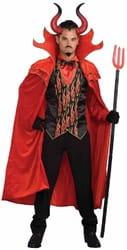 Фото Большие рога дьявола (красные)