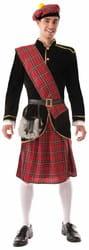 Фото Костюм Шотландец в килте взрослый