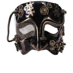 Фото Золотая маска в стиле Стимпанк