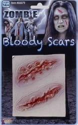 Фото Кровавые шрамы зомби