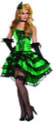 Фото Костюм Девушка из салуна в платье взрослый