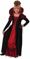 Фото Костюм Королева Вампиров в платье детский