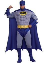 Фото Костюм Бэтмен deluxe с мускулами взрослый