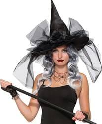 Фото Шляпа Ведьмы (черная) deluxe
