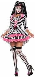 Фото Костюм Подружка Клоуна в платье взрослый