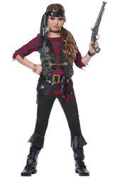 Фото Костюм Пиратка бунтовщица детский
