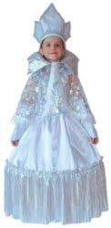 Фото Костюм Снежная Королева нарядная детский