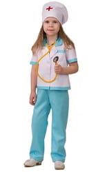 Фото Костюм Медсестра с фонендоскоп детский