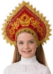 Фото Кокошник Сударушка детский
